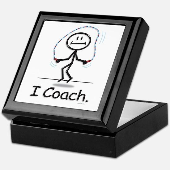 Jump Roping Coach Keepsake Box