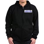 Hope and Change Zip Hoodie (dark)