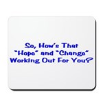 Hope and Change Mousepad