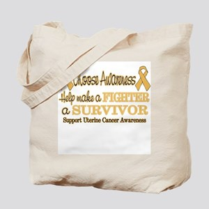 Fighters and Survivors Uterin Tote Bag