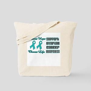 Choose Hope Ovarian Tote Bag