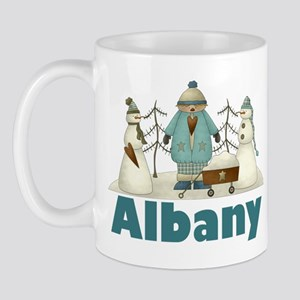 Winter Friends Albany Mug