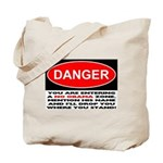 No Obama Zone Tote Bag