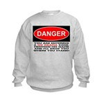 No Obama Zone Kids Sweatshirt