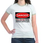No Obama Zone Jr. Ringer T-Shirt