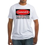 No Obama Zone Fitted T-Shirt