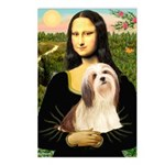Mona / Lhasa Apso #4 Postcards (Package of 8)