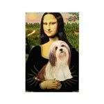 Mona / Lhasa Apso #4 Rectangle Magnet