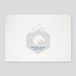 Crested Butte Mountain Resort - M 5'x7'Area Rug