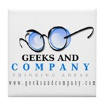 Geeks and Company Tile Coaster