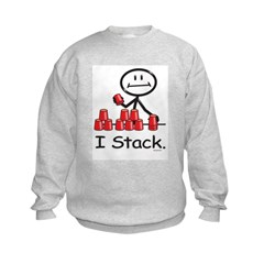 Sport Stacking Red Cups Sweatshirt