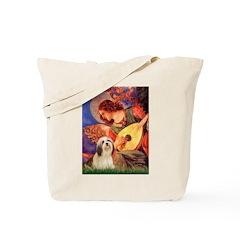 Mandolin / Lhasa Apso #4 Tote Bag