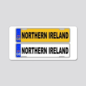 UK Front And Back Number Pl Aluminum License Plate
