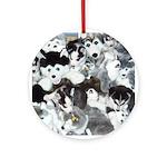 MCK Stuff Puppies Ornament (Round)