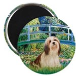 Bridge / Lhasa Apso #4 Magnet
