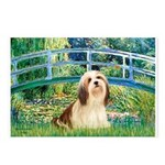 Bridge / Lhasa Apso #4 Postcards (Package of 8)