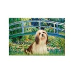 Bridge / Lhasa Apso #4 Rectangle Magnet