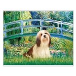 Bridge / Lhasa Apso #4 Small Poster
