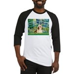 Bridge / Lhasa Apso #4 Baseball Jersey