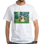 Bridge / Lhasa Apso #4 White T-Shirt
