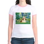 Bridge / Lhasa Apso #4 Jr. Ringer T-Shirt