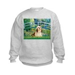 Bridge / Lhasa Apso #4 Kids Sweatshirt