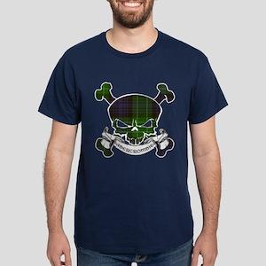 Abercrombie Tartan Skull Dark T-Shirt