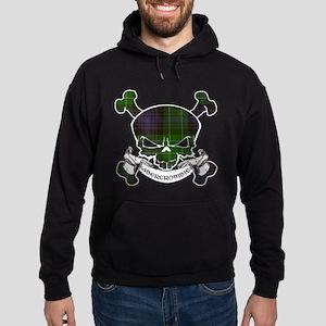 Abercrombie Tartan Skull Hoodie (dark)
