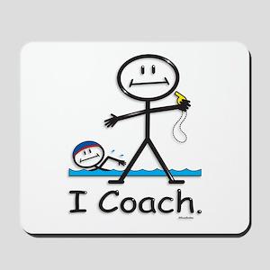 Swimming Coach Mousepad