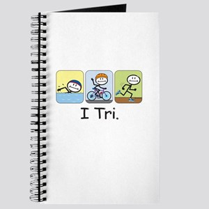 Triathlon Stick Figure Journal