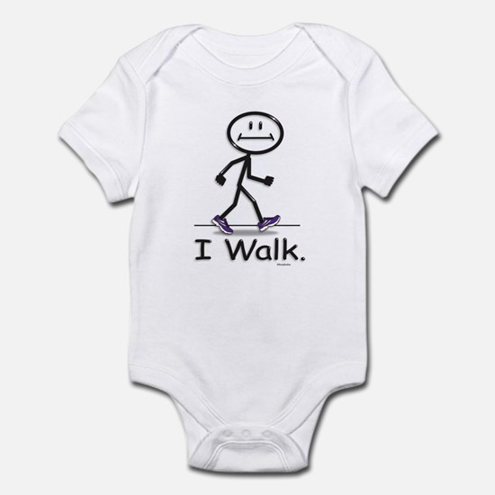 BusyBodies Walking Infant Bodysuit