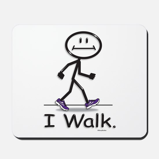 BusyBodies Walking Mousepad