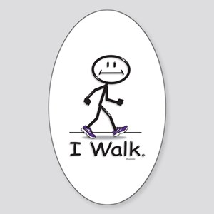 BusyBodies Walking Oval Sticker