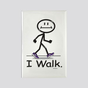 BusyBodies Walking Rectangle Magnet