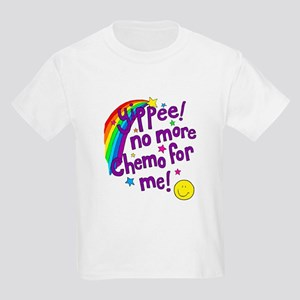 Kids Light T-Shirt- No More Chemo
