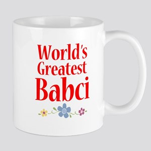 World's Greatest Babci Mug