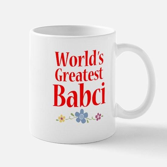 World's Greatest Babci Mug