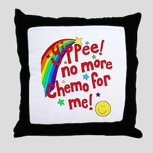 Throw Pillow- No More Chemo