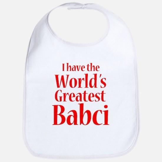 I Have World's Greatest Babci Bib
