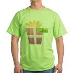 Papa's Favorite Gift Green T-Shirt