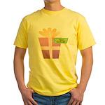 Papa's Favorite Gift Yellow T-Shirt
