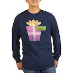 Papa's Favorite Gift Long Sleeve Dark T-Shirt
