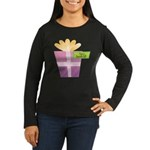 Papa's Favorite Gift Women's Long Sleeve Dark T-Sh