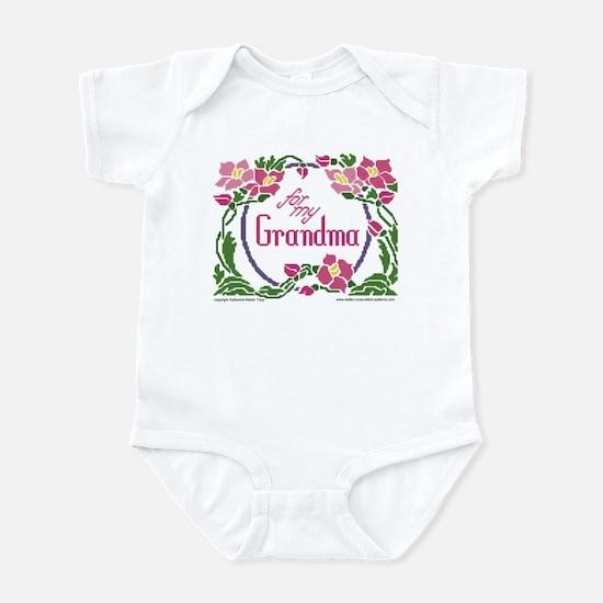 For My Grandma Infant Bodysuit