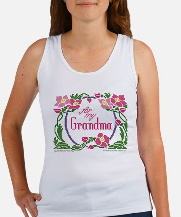 For My Grandma Women's Tank Top