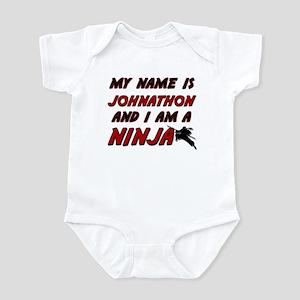 my name is johnathon and i am a ninja Infant Bodys