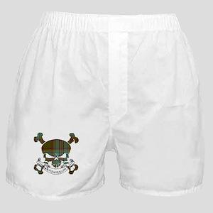 Anderson Tartan Skull Boxer Shorts