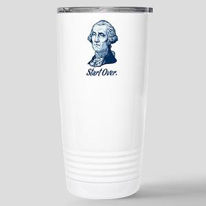 Start Over Stainless Steel Travel Mug