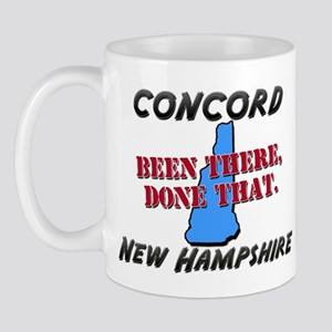 concord new hampshire - been there, done that Mug