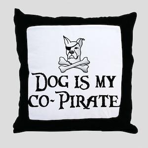 Co-Pirate Throw Pillow